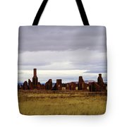 The Ruins Of Fort Union Tote Bag