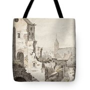 The Ruins Of Utrecht Tote Bag