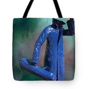The Running Man Tote Bag by Ericamaxine Price