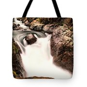 The Rush Of Water And The Cool Wet Wind Tote Bag