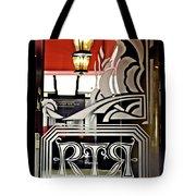 The Russian Tea Room Door Tote Bag