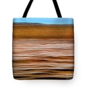 The Rust Brown Pacific Tote Bag