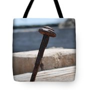 The Rusted Spike Tote Bag