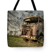 The Rusting Rig Tote Bag