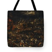 The Sack Of Troy Tote Bag
