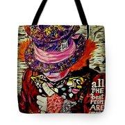 The Sad Hatter Tote Bag
