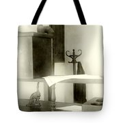 The Safe In The Wall Tote Bag