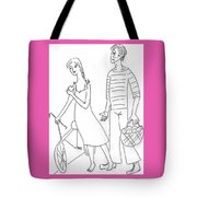 The Sailor. Tote Bag