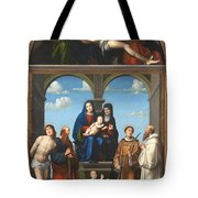 The Saint Anne Altarpiece From San Frediano Lucca Tote Bag