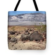 The Salt Flats Of Death Valley Tote Bag