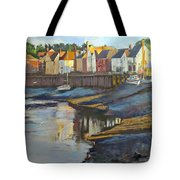 The Saltwater Village Evening Tote Bag
