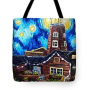 The Salty Dog Saloon Tote Bag