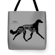 The Saluki Is A Marvel Of Elegance Tote Bag