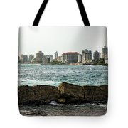The San Juan Puerto Rico Cityscape Tote Bag