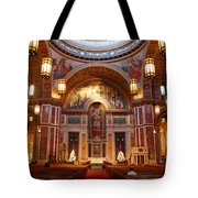 The Sanctuary Of Saint Matthew's Cathedral Tote Bag