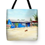 The Sand Bar - Margaritaville, Freeport, Bahamas Tote Bag