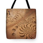 The Sand Man Tote Bag