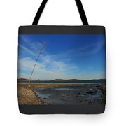 The Sandbar At Low Tide Tote Bag