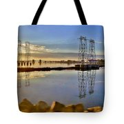 The Saugus River At Dawn Tote Bag