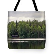 The Sauna Of Kintulammi Tote Bag