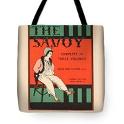 The Savoy Tote Bag