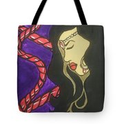 The Scarlet Cord Tote Bag