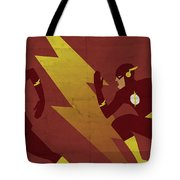 The Scarlet Speedster Tote Bag by Michael Myers