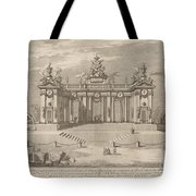 "The School Of Athens Arcades, For The ""chinea"" Festival Tote Bag"