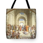 The School Of Athens, Raphael Tote Bag