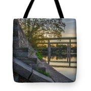 The Schuylkill Steps - East Falls - Philadelphia Tote Bag