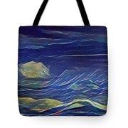 The Sea And Sky Where Thunder Sleeps Tote Bag