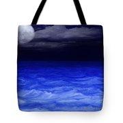 The Sea At Night Tote Bag