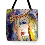 The Sea Becomes Her Tote Bag