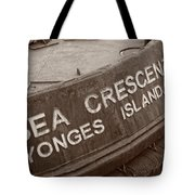 The Sea Crescent Tote Bag