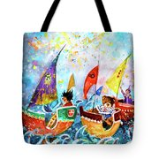 The Sea Cruise Of Tivoli Gardens Tote Bag