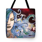 The Sea Inside Tote Bag