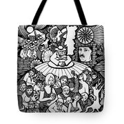 The Sea Was Conquered The Empire Undone Tote Bag