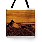 The Searchers Homage 1956   Wig-wam Village Variation #1 1890's Tote Bag