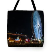 The Seattle Great Wheel 2 Tote Bag