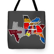 The Sec South Eastern Conference Teams Tote Bag