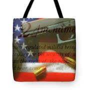 The Second Amendment Tote Bag
