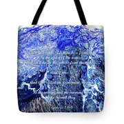 The Second Day With Scripture Tote Bag