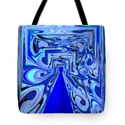 The Secret Room Abstract Tote Bag