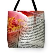 The Seed Is The Word Of God Tote Bag