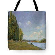 The Seine At Billancourt Tote Bag