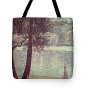 The Seine At Courbevoie Tote Bag