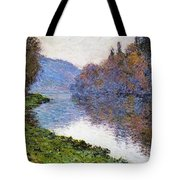 The Seine At Jenfosse Tote Bag
