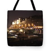 The Seine At Night Tote Bag