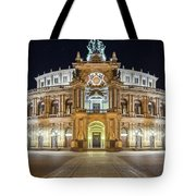 The Semper-opera Tote Bag