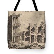 The Septizonium And The Colosseum Tote Bag
